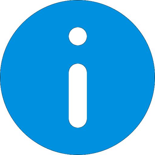 ícone de informação